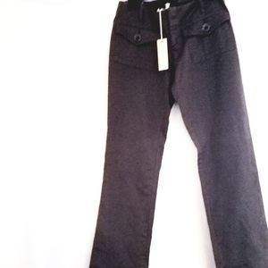 Womens Diesel size 31 gray flare pants new